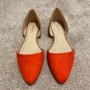 Old Navy Women's Pointy-Toe D'Orsay Flats